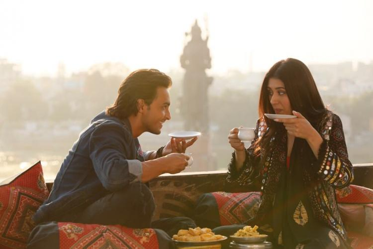 Salman Khan drops a new still from Aayush Sharma-Warina Hussain's Loveratri; teaser to be out today