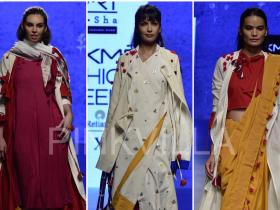 Celebrity Style,lakme fashion week,Ka Sha,Karishma Shahni Khan
