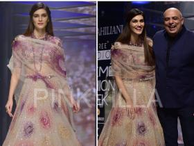 Celebrity Style,tarun tahiliani,lakme fashion week,Kriti Sanon