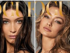 Celebrity Style,gigi hadid,Bella Hadid,British Vogue
